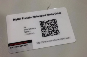 Porsche QR Press Kit